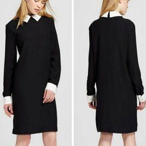 Dresses & Skirts - Victoria Beckham bunny collar dress M black NWT